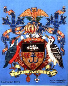 The Arms of Allen-Hewlett (my work)