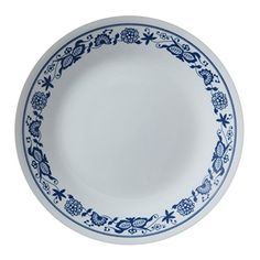 RETIRED-CORELLE-BLUE-VELVET-ELEGANT-ROSE-AND-MORE- | Kitchen Stuff ...