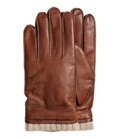Men's Leather Gloves, was $35, now $20. Because as much as he may deny it, his hands get cold, too.