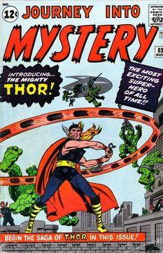 Thor (Marvel Comics, first appearance in 1962)