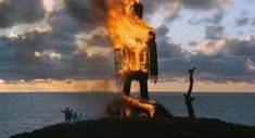 Director: Robin Hardy By Roderick Heath The Wicker Man is the sort of horror film that people who don't like horror films embrace, and that can make people like me who do like horror films distrust… Harry Potter, Wicker Man, Raging Bull, Film Grab, Nicolas Cage, Horror Films, The Real World, Great Movies, Alter
