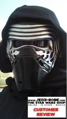 STAR WARS COSTUMES: - The Kylo Ren looks great