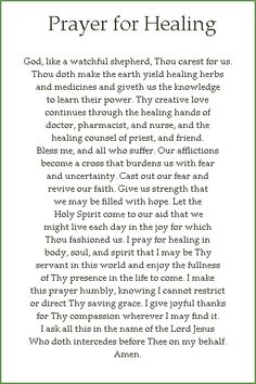 Prayer for healing. For my baby girl. Sorry I have no bottle. So u know every day I always pray for ur tears to go away. Prayers For My Mother, Prayer For Mothers, Special Prayers, Prayer For Healing The Sick, Prayers For Healing, Power Of Prayer, Healing Prayer, Prayer Quotes, Wise Quotes