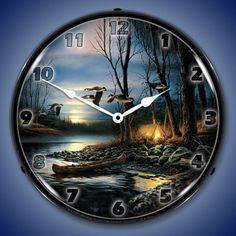 """""""After the Hunt"""" 11- Wildlife Clocks Available"""