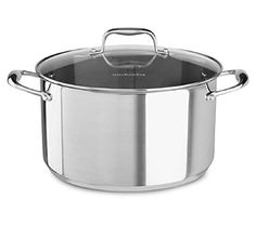 KitchenAid KCS60LCLS Stainless Steel 60Quart Low Casserole with Lid Cookware  Polished Stainless Steel ** You can get more details by clicking on the image.