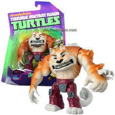 Playmates Year 2012 Nickelodeon Teenage Mutant Ninja Turtles 5 Inch Tall Action Figure - Shredder's Top Dog DOGPOUND with Removable Tail Tmnt Characters, Tmnt 2012, Teenage Mutant Ninja Turtles, Action Figures, Dexter, Statues, Dogs, Collection, Ninja Turtles