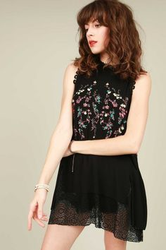 Lovely Susan Top - Black
