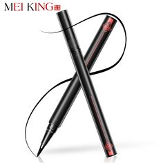 MEIKING 1 Pcs Black Long Lasting Eye Liner Pencil Waterproof Eyeliner Smudge-Proof Cosmetic Beauty Makeup Liquid Eyeliner Pen