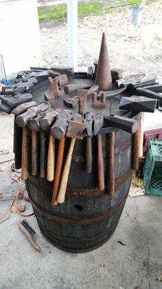 Blacksmith's tools - //tinyurl.com/ktj9jo7