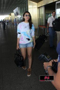 Parineeti Chopra snapped at International Terminal