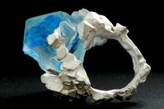 Francesca Flynn Jewellery | New Work: Inclusions, ring, October 2012 resin,...