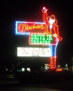 See a double feature at the Winchester Drive-In in #Oklahoma City and grab a bag full of freshly popped pop corn!