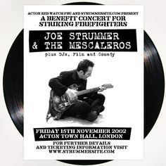 Joe Strummer — Hellcat — RSD