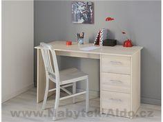 Latitude Run Matos Computer Desk Color: Light Acacia Curved Desk, Solid Wood Desk, Computer Desk With Hutch, Desk Hutch, Acacia, Large Shelves, L Shaped Desk, Upholstered Platform Bed, Drawer Fronts