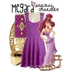 """Megara"" by princesschandler on Polyvore"