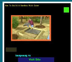 How To Build A Sandbox With Cover 203922 - The Best Image Search