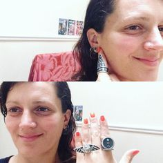 I love love love when you lovely souls send me pictures of you in El Hieroglyph! Keep them coming! Here is beautiful Samantha from Dublin literally decked out in #elhieroglyph. The Shen Earrings, The Feather of Maat Ring, The Poison Ring & The Winged Scarab Ring  Thank you  #yousexy #youbeauty #youhotmama