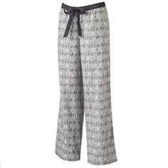 c1465321d3a Women s SONOMA Goods for Life™ Pajamas  Comfort   Joy Flannel Pajama Pants