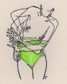 Broderie illustration