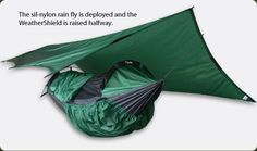Clark Jungle Hammock - makers of ultralight camping hammocks for backpackers. Great for hikers, backpackers, campers, bikers, kayakers, hunters.