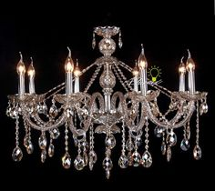 Luxury And Elegant Swarovski Crystal Chandelier   MidCityEast