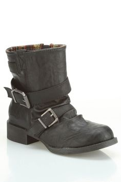 Blowfish Kaper Motorcycle Boot In Black Austin - Beyond the Rack These are so sexy!!
