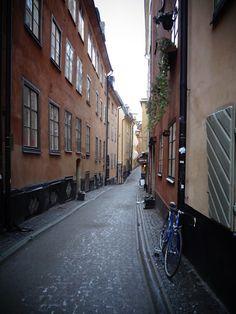 Rannalla lähes autiolla -blogini tunnelmakuvia Tukholmasta.  Photos from Gamla Stan Stockholm, January 2016.
