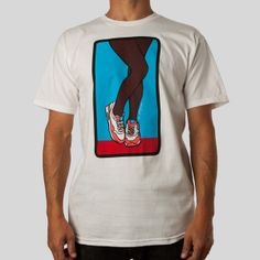 Classic Fit, 5.5oz 100% Cotton Men's T-Shirt in White About the Artist: As the founder and creative genius of UNDRCRWN, Dustin Canalin has produced countless collections of exclusive content inspired