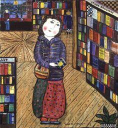Dora Holzhandler - La biblioteca, 1984.