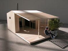 Mini House ~ Nordic Marine Living - Marinbastu & Friggebod