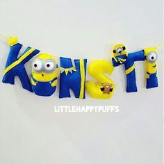 Minions theme name banner