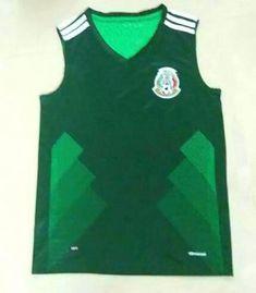 2017-18 Sleeveless Jersey Mexico Soccer Team Home Replica Football Shirt   JFCB873  Mexico 244e30b1d