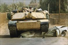M1A1 Abrams main battle tank.