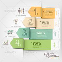 Business Arrow Infographics Vector Template #design #presentation Download: http://graphicriver.net/item/business-arrow-infographics-template/8503337?ref=ksioks