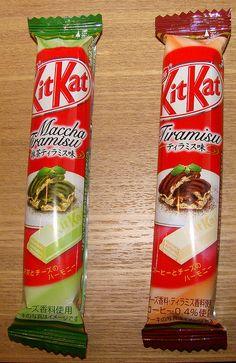 Macha Tiramisu + Tiramisu KitKat