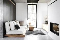 Modern neutral sitting room