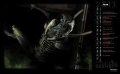Alien Xenomorph Attack (Rendered)