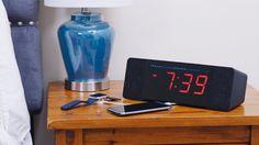 Palo Alto Innovation is raising funds for Sandman Doppler: The World's Best Alarm Clock on Kickstarter! Meet the Sandman Doppler, the best alarm clock you've ever seen! Best Alarm, Flip Clock, Digital Alarm Clock, Gadgets, Usb, Good Things, Nightstand, Feels, Technology