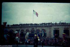Carnival in Valletta. Photos of Malta taken between 1940-1970