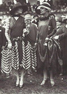 "French ""street"" fashion, 1920's."