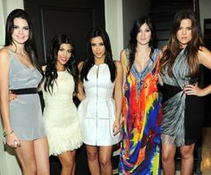 The Kardashian sisters