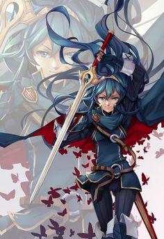Lucina - Fire Emblem Awakening by lucidsky.deviantart.com on @DeviantArt