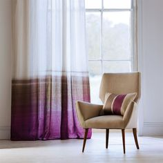 Harlequin - Designer Fabrics and Wallpapers   Products   Tranquil (HLAL130959)   Landscapes Voiles and Weaves