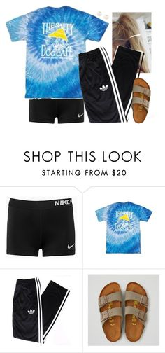 """""""Headed to gymnastics"""" by aweaver-2 ❤ liked on Polyvore featuring NIKE, adidas Originals, American Eagle Outfitters and Accessorize"""