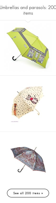 """Umbrellas and parasols: 200 items"" by lorika-borika on Polyvore featuring accessories, umbrellas, leather umbrella, monogrammed umbrella, umbrella, red, missoni, red umbrella, logo umbrella и wood handle umbrella"
