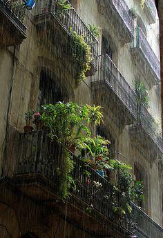 Rain in Barcelona | Flickr - Photo Sharing!