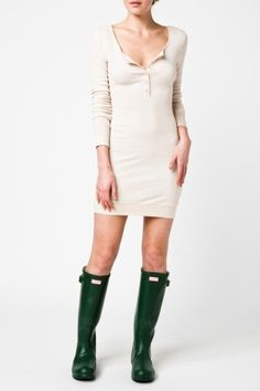 more Haute Hoodie for her - the Henley Dress
