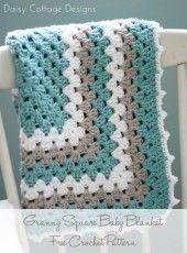 Granny Square Baby Blanket Pattern
