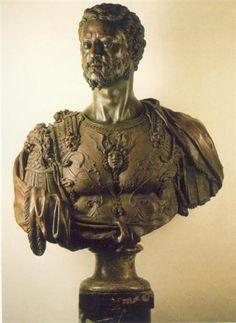 Bust of Cosimo I - Benvenuto Cellini