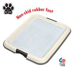 Potty Pad Holder Training Puppy Dog Pee Pet Tray Indoor Protector Pads Paws New